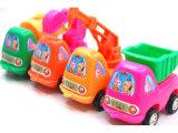 儿童塑料玩具批发益智小玩具混批回力玩具车迷你工程车4款热销20g