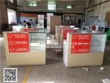 彩票销售桌子 福利彩票柜台厂家定制弧形收银台吧台福彩组合柜