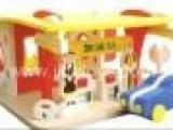 迷你加油站 立体拼装拼板玩具 EVA手工制作 EVA玩具 益智玩