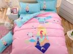 欢乐游玩南通卡通儿童床上用品三件套活性全