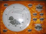 景德镇和天下陶瓷青花手绘陶瓷茶具套装
