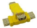 usb母对母头usb线连接头F/F头USB对接头转接卡转接线数码