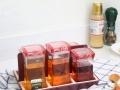 metka批发魔方餐桌调味瓶组合套装,餐桌调味瓶厂家直销