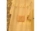 2015夏季新款韩国东大门代购蕾丝短袖甜美百搭连衣裙