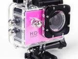 新款高清带WIFI防水摄像机户外运动DV潜水式头盔式录像机工厂批