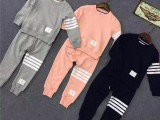 新款儿童套装 韩版童装圆领套头卫衣二件套装