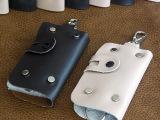 2014新款高档时尚真牛皮卡包情侣男女钥匙扣包多功能挂钥匙腰包