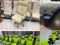 专业生产全新屏风办公桌,钢架式办公桌办公椅会议椅等