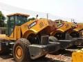 2手20吨22吨26吨振动压路机,胶轮铁三轮双钢轮压路机市场