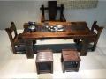 厂家促销 老船木家具茶桌茶台 功夫茶桌椅组合