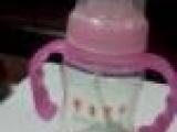 5安标口弧形手柄自动PP奶瓶