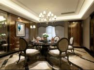 渝北叠拼别墅装修案例 华侨城叠拼新古典风格设计方案图