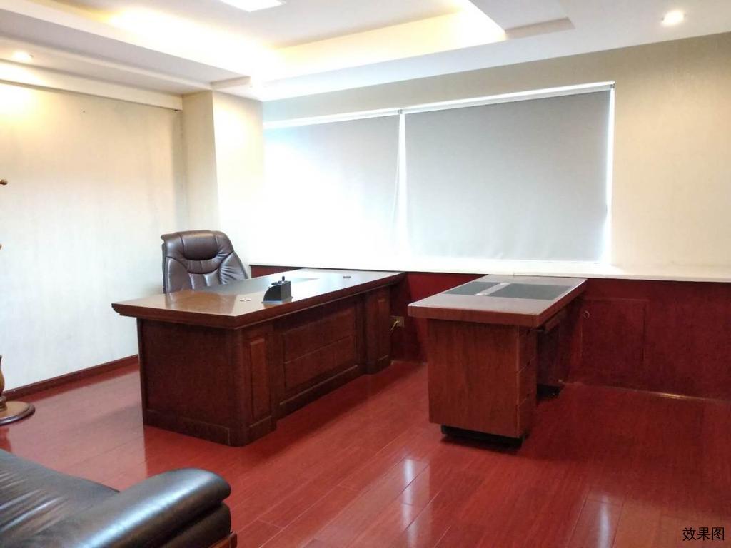 四方坪 整层700平左右,带全套红木办公家具,带中央空调鑫政大厦