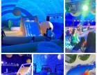 乌鲁木齐大型充气互动模具出租 鲸鱼岛现货优惠租赁 订制尺寸