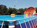 鄂州小孩的充气游泳池
