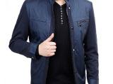 宾狄曼2014秋装新款 男士夹克 立领宽松男装外套夹克衫一件代发