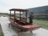 单蓬船 观光木船 休闲木船 厂家直销 仿古木船