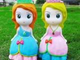 地摊货批发网涂鸦公仔彩绘3DIY玩具搪胶娃娃厂家批发