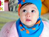 套头帽三角巾套装 婴儿帽子儿童帽子宝宝帽春季新款长颈鹿棉布帽
