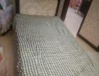 单人床带厚海绵垫50块钱急售