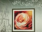 玫瑰 十字绣