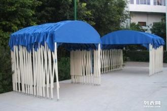 具久伸缩雨篷户外大排档帐篷伸缩遮阳蓬推拉式雨篷推拉篷制作