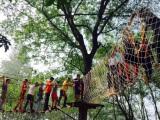 研学基地拓展器材施工 非标定制 河南学生丛林探险