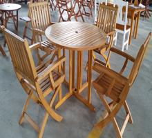 青岛实木桌椅/咖啡桌椅/庭院桌椅/户外桌椅/青岛星巴克桌椅