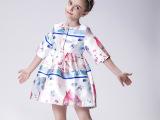 女童秋装2015新款连衣裙中大童品牌童装批发儿童礼服公主裙花童裙
