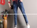 青岛较便宜服装批发质量保证品牌尾货牛仔裤厂家直销低至10元