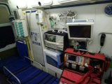 拉薩跑長途的救護車-配備專業醫護人員