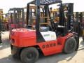 二手新款杭州3.5吨柴油叉车,双排手动档内燃叉车