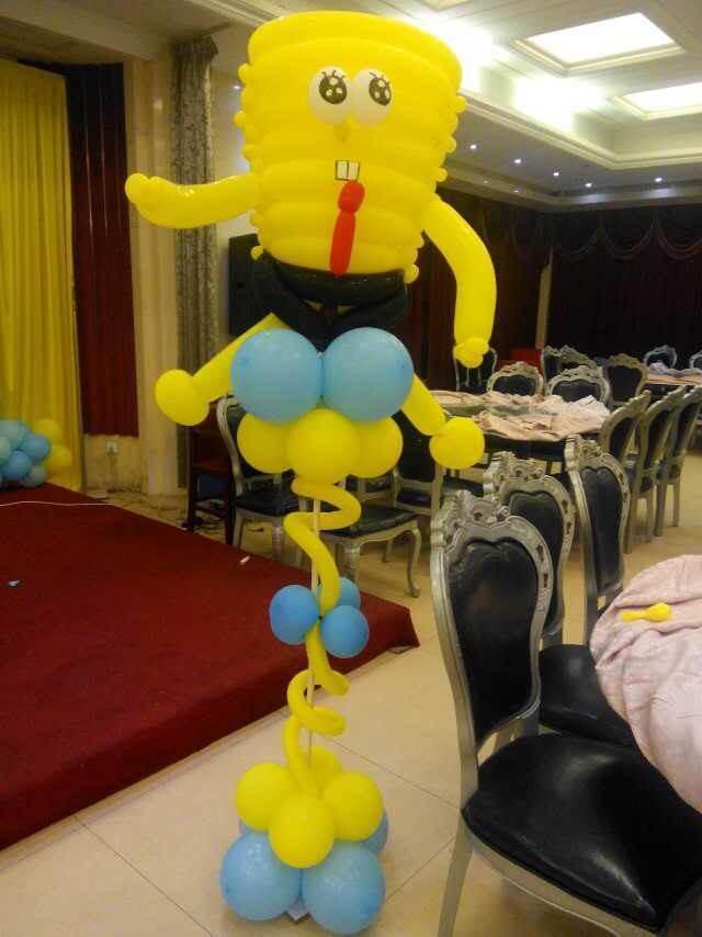 泉州气球彩球装饰布置