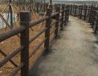 东莞河堤水泥栏杆 惠州惠阳区水泥仿木栏杆 水泥仿木栏杆厂欢