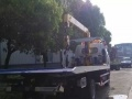 厂家供应国四全新蓝牌一拖二清障车,事故拖车,道路救援车
