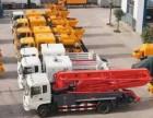 台州泵车,拖泵,地泵销售租赁,承接现场搅拌站建设