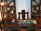 老船木家具茶几实木茶桌龙骨茶桌老船木功夫茶桌椅书桌书柜餐桌餐椅餐边柜酒