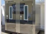 内蒙古日硕岗亭厂生产加工钢结构岗亭移动卫生间治安岗亭厂家直销