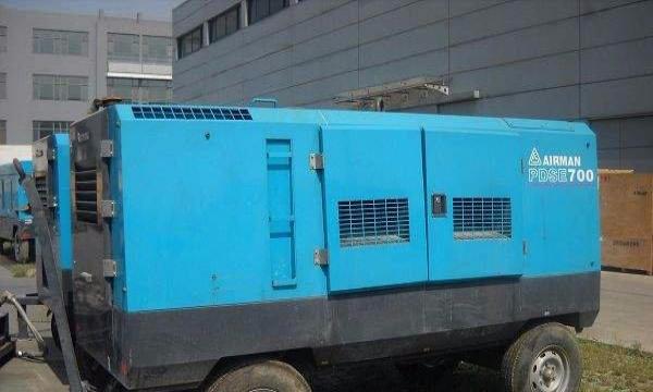 陕西柴油动力空压机租赁宝鸡出租移动式空压机