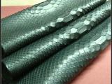 生产供应 凹凸蛇纹皮革 高品质箱包蛇纹皮革面料