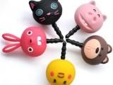 韩国立体小动物 兔子 iphone4 4s卡通防尘塞 耳机塞子