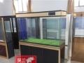 周口鱼缸定做观赏鱼水族箱厂家直销优惠 1米1.2米