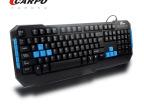 卡尔波品牌多媒体有线键盘T101M P口品牌键鼠 游戏键鼠 单键批发