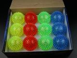 厂家直销儿童玩具7.5七彩按摩球 扭扭球 弹力球 魔力 球批发