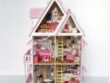 diy小屋 阳光爱丽丝 手工别墅模型屋 批发拼装小房子 创意玩具