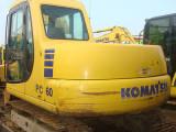 当地二手60挖掘机 小松60 70 80小型挖土机二