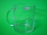 玻璃马克杯啤酒杯 玻璃磨砂啤酒杯 玻璃啤酒杯库存 发光啤酒杯