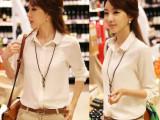 2014春季夏秋新款女士雪纺衬衫长袖女士衬衫职业白衬衫优质雪纺