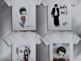广东步行街摆摊衣服上印照片设备多少钱广州T恤印花机的使用方法