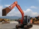 私人出售進口日立120二手挖掘機